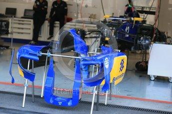 World © Octane Photographic Ltd. Sauber F1 Team C34-Ferrari – Felipe Nasr. Thursday 20th August 2015, F1 Belgian GP Pitlane, Spa-Francorchamps, Belgium. Digital Ref: 1370LB1D7102