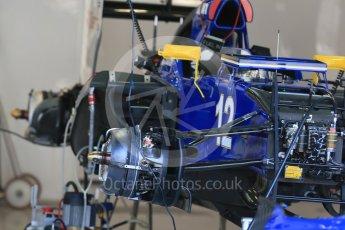 World © Octane Photographic Ltd. Sauber F1 Team C34-Ferrari – Felipe Nasr. Thursday 20th August 2015, F1 Belgian GP Pitlane, Spa-Francorchamps, Belgium. Digital Ref: 1370LB1D7113
