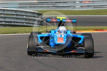 World © Octane Photographic Ltd. Friday 21st August 2015. Jenzer Motorsport – Matheo Tuscher. GP3 Practice – Spa-Francorchamps, Belgium. Digital Ref. : 1378LB1D8950