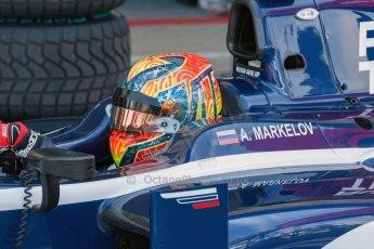 World © Octane Photographic Ltd. Friday 3rd July 2015. Russian Time – Artem Markelov. GP2 Practice – Silverstone, UK. Digital Ref. : 1329JM1D3864