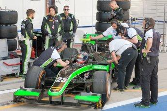 World © Octane Photographic Ltd. Friday 3rd July 2015. Status Grand Prix – Richie Stanaway. GP2 Practice – Silverstone, UK. Digital Ref. : 1329JM1D3869