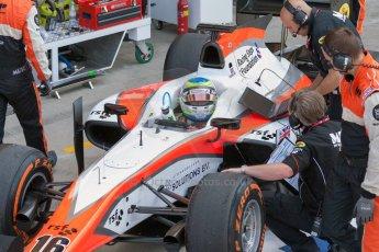 World © Octane Photographic Ltd. Friday 3rd July 2015. MP Motorsport – Oliver Rowland. GP2 Practice – Silverstone, UK. Digital Ref. : 1329JM1D3921