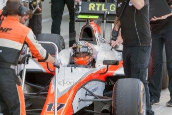 World © Octane Photographic Ltd. Friday 3rd July 2015. MP Motorsport – Daniel de Jong. GP2 Practice – Silverstone, UK. Spain. Digital Ref. : 1329JM1D3927