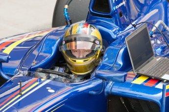 World © Octane Photographic Ltd. Friday 3rd July 2015. Carlin – Johnny Cecotto. GP2 Practice – Silverstone, UK. Digital Ref. : 1329JM1D3939