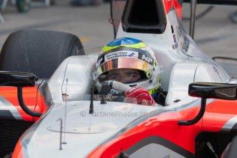 World © Octane Photographic Ltd. Friday 3rd July 2015. MP Motorsport – Oliver Rowland. GP2 Practice – Silverstone, UK. Digital Ref. : 1329JM1D3940