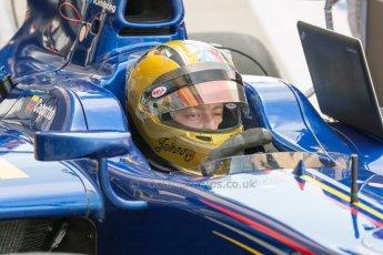 World © Octane Photographic Ltd. Friday 3rd July 2015. Carlin – Johnny Cecotto. GP2 Practice – Silverstone, UK. Digital Ref. : 1329JM1D3943