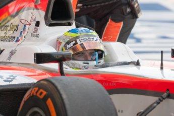 World © Octane Photographic Ltd. Friday 3rd July 2015. MP Motorsport – Oliver Rowland. GP2 Practice – Silverstone, UK. Digital Ref. : 1329JM1D4020