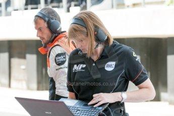 World © Octane Photographic Ltd. Friday 3rd July 2015. MP Motorsport. GP2 Practice – Silverstone, UK. Spain. Digital Ref. :1329JM1D4029