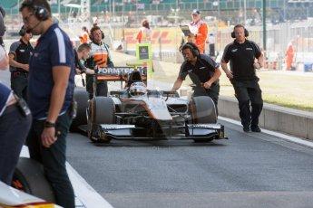 World © Octane Photographic Ltd. Friday 3rd July 2015. Hilmer Motorsport – Jon Lancaster. GP2 Practice – Silverstone, UK. Spain. Digital Ref. : 1329JM1D4065
