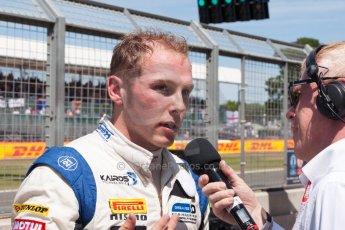 World © Octane Photographic Ltd. Friday 3rd July 2015. Hilmer Motorsport – Jon Lancaster. GP2 Practice – Silverstone, UK. Spain. Digital Ref. : 1329JM1D4080
