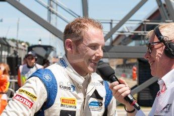 World © Octane Photographic Ltd. Friday 3rd July 2015. Hilmer Motorsport – Jon Lancaster. GP2 Practice – Silverstone, UK. Spain. Digital Ref. : 1329JM1D4089