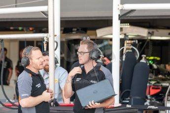 World © Octane Photographic Ltd. Friday 3rd July 2015. Hilmer Motorsport . GP2 Practice – Silverstone, UK. Digital Ref. :1329JM1D4092