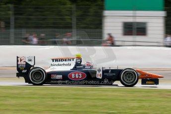 World © Octane Photographic Ltd. Friday 3rd July 2015. Trident – Rene Binder. GP2 Qualifying – Silverstone, UK. Digital Ref. : 1330JM1D3699