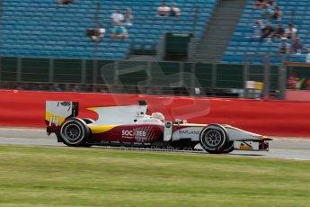 World © Octane Photographic Ltd. Friday 3rd July 2015. Campos Racing – Arthur Pic. GP2 Qualifying – Silverstone, UK. Digital Ref. : 1330JM1D3741