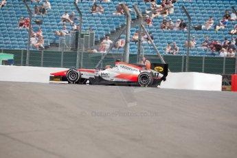 World © Octane Photographic Ltd. Friday 3rd July 2015. MP Motorsport – Daniel de Jong. GP2 Qualifying – Silverstone, UK. Spain. Digital Ref. : 1330JM1D3792