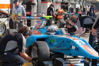 World © Octane Photographic Ltd. Thursday 2nd July 2015. Jenzer Motorsport – Matheo Tuscher. GP3 Paddock – Silverstone, UK. Digital Ref. : 1331JM1D4115