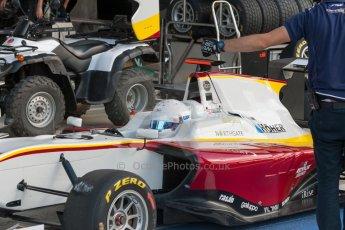 World © Octane Photographic Ltd. Thursday 2nd July 2015. Campos Racing – Christopher Hoher. GP3 Paddock – Silverstone, UK. Digital Ref. : 1331JM1D4138