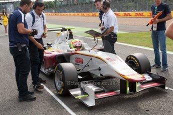World © Octane Photographic Ltd. Saturday 4th July 2015. Campos Racing – Alex Palou. GP3 Race 1 – Silverstone, UK. Digital Ref. : 1337JM1D4045