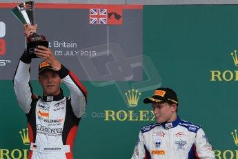 World © Octane Photographic Ltd. Saturday 4th July 2015. Arden International – Emil Bernstorff and Koiranen GP – Matthew Parry. GP3 Race 1 – Silverstone, UK. Digital Ref. : 1337LB1D5908
