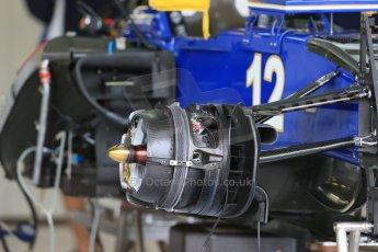 World © Octane Photographic Ltd. Sauber F1 Team C34-Ferrari – Felipe Nasr. Thursday 2nd July 2015, F1 British GP Pit Lane Silverstone, UK. Digital Ref: 1324LB1D2720