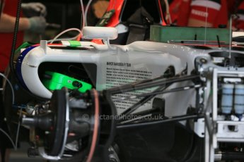 World © Octane Photographic Ltd. Manor Marussia F1 Team MR03B. Thursday 2nd July 2015, F1 British GP Pit Lane, Silverstone, UK. Digital Ref: 1324LB1D2749