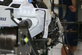World © Octane Photographic Ltd. Williams Martini Racing FW37. Thursday 2nd July 2015, F1 British GP Pit Lane, Silverstone, UK. Digital Ref: 1324LB1D2842