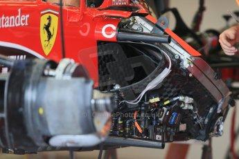 World © Octane Photographic Ltd. Scuderia Ferrari SF15-T. Thursday 2nd July 2015, F1 British GP Pit Lane, Silverstone, UK. Digital Ref: 1324LB1D2846