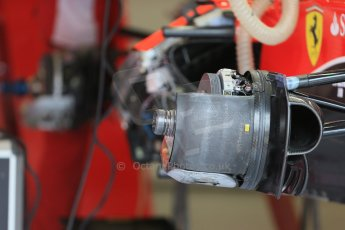 World © Octane Photographic Ltd. Scuderia Ferrari SF15-T. Thursday 2nd July 2015, F1 British GP Pit Lane, Silverstone, UK. Digital Ref: 1324LB1D2880