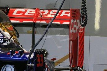 World © Octane Photographic Ltd. Scuderia Toro Rosso STR10. Thursday 2nd July 2015, F1 British GP Pit Lane, Silverstone, UK. Digital Ref: 1324LB1D2937