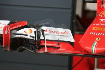 World © Octane Photographic Ltd. Scuderia Ferrari SF15-T. Thursday 2nd July 2015, F1 British GP Pit Lane, Silverstone, UK. Digital Ref: 1324LB5D8459