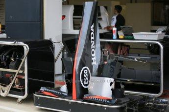 World © Octane Photographic Ltd. McLaren Honda MP4/30. Thursday 2nd July 2015, F1 British GP Pit Lane, Silverstone, UK. Digital Ref: 1324LB5D8471