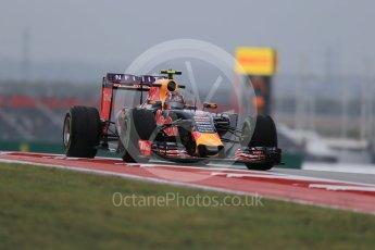 World © Octane Photographic Ltd. Infiniti Red Bull Racing RB11 – Daniil Kvyat. Friday 23rd October 2015, F1 USA Grand Prix Practice 1, Austin, Texas - Circuit of the Americas (COTA). Digital Ref: 1460LB1D9325