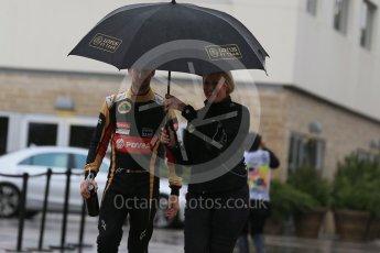 World © Octane Photographic Ltd. Lotus F1 Team E23 Hybrid – Romain Grosjean. Sunday 25th October 2015, F1 USA Grand Prix Qualifying, Austin, Texas - Circuit of the Americas (COTA). Digital Ref: 1464LB1D1188