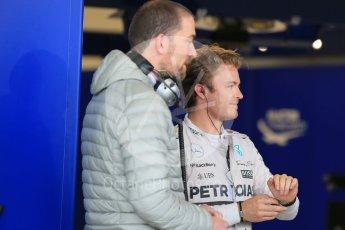 World © Octane Photographic Ltd. Mercedes AMG Petronas F1 W06 Hybrid – Nico Rosberg. Sunday 25th October 2015, F1 USA Grand Prix Qualifying, Austin, Texas - Circuit of the Americas (COTA). Digital Ref: 1464LB1D1254