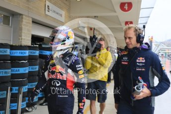 World © Octane Photographic Ltd. Infiniti Red Bull Racing RB11 – Daniel Ricciardo. Sunday 25th October 2015, F1 USA Grand Prix Qualifying, Austin, Texas - Circuit of the Americas (COTA). Digital Ref: 1464LB5D3429