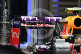 World © Octane Photographic Ltd. Infiniti Red Bull Racing RB11. Wednesday 21st October 2015, F1 USA Grand Prix Set Up, Austin, Texas - Circuit of the Americas (COTA). Digital Ref: 1457LB1D8090