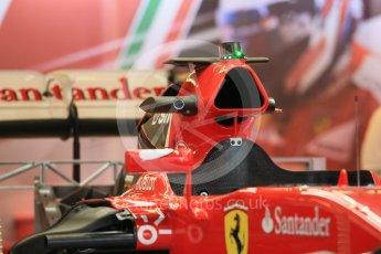 World © Octane Photographic Ltd. Scuderia Ferrari SF15-T. Wednesday 21st October 2015, F1 USA Grand Prix Set Up, Austin, Texas - Circuit of the Americas (COTA). Digital Ref: 1457LB1D8208