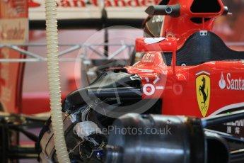 World © Octane Photographic Ltd. Scuderia Ferrari SF15-T. Wednesday 21st October 2015, F1 USA Grand Prix Set Up, Austin, Texas - Circuit of the Americas (COTA). Digital Ref: 1457LB1D8212