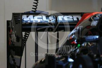World © Octane Photographic Ltd. McLaren Honda MP4/30. Wednesday 21st October 2015, F1 USA Grand Prix Set Up, Austin, Texas - Circuit of the Americas (COTA). Digital Ref: 1457LB1D8228