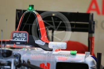 World © Octane Photographic Ltd. Manor Marussia F1 Team MR03B. Wednesday 21st October 2015, F1 USA Grand Prix Set Up, Austin, Texas - Circuit of the Americas (COTA). Digital Ref: 1457LB1D8440