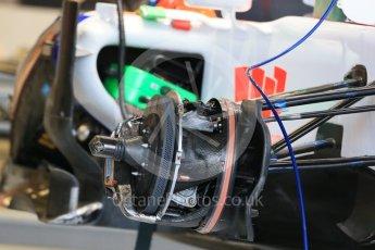 World © Octane Photographic Ltd. Manor Marussia F1 Team MR03B. Wednesday 21st October 2015, F1 USA Grand Prix Set Up, Austin, Texas - Circuit of the Americas (COTA). Digital Ref: 1457LB1D8459