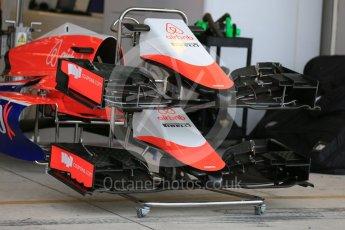 World © Octane Photographic Ltd. Manor Marussia F1 Team MR03B. Wednesday 21st October 2015, F1 USA Grand Prix Set Up, Austin, Texas - Circuit of the Americas (COTA). Digital Ref: 1457LB5D2724