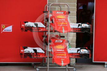 World © Octane Photographic Ltd. Scuderia Ferrari SF15-T. Wednesday 21st October 2015, F1 USA Grand Prix Set Up, Austin, Texas - Circuit of the Americas (COTA). Digital Ref: 1456LB1D7569