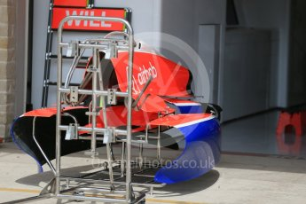World © Octane Photographic Ltd. Manor Marussia F1 Team MR03B. Wednesday 21st October 2015, F1 USA Grand Prix Set Up, Austin, Texas - Circuit of the Americas (COTA). Digital Ref: 1456LB1D7602