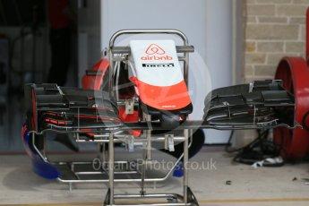 World © Octane Photographic Ltd. Manor Marussia F1 Team MR03B. Wednesday 21st October 2015, F1 USA Grand Prix Set Up, Austin, Texas - Circuit of the Americas (COTA). Digital Ref: 1456LB1D7609