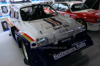 World © Octane Photographic Ltd. Donington Grand Prix Collection 25th January 2015. Prodrive collection - Rothmans MG Metro 6R4 (1986). Digital Ref:  1179CB1D0911