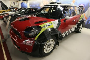 World © Octane Photographic Ltd. Donington Grand Prix Collection 25th January 2015. Prodrive collection. Mini Cooper WRC John Cooper Works. Digital Ref:  1179CB1D0918