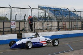 World © Octane Photographic Ltd. 13th October 2015. Donington Park. General Testing. Team USA Scholarship & Cliff Dempsey Racing - Michai Stephens. Digital Ref: 1455LB1D7104