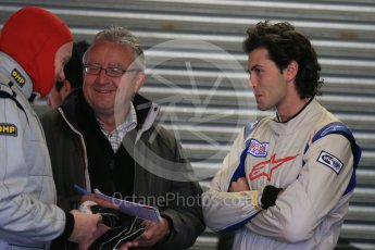 World © Octane Photographic Ltd. 15th October 2015. Donington Park. General Testing. Lanan Racing - Justin Noble and Neil Hunt. Digital Ref: 1455LB1D7291