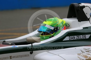 World © Octane Photographic Ltd. 15th October 2015. Donington Park. General Testing. JHR Racing - Dan Zelos. Digital Ref: 1455LB1D7392